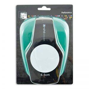 Toga OPXF02 Perforatrice Géante Motif Rond Plastique Noir 13 x 19 x 10 cm de la marque Toga image 0 produit
