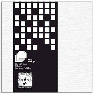 Toga PBE05 Bloc DE 25 Feuilles Papier Blanc 30,5 x 31,5 x 1 cm de la marque Toga image 0 produit