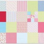 Toga POG003 Mademoiselle Lot de 100 Feuilles origami Papier Multicolore 15 x 15 x 1 cm de la marque Toga image 1 produit