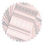 Toga PPK013 Dentelles Lot de 48 Feuilles imprimées Papier Multicolore 21 x 29,7 x 0,1 cm de la marque Toga image 1 produit