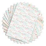 Toga PPK022 Cœurs & Feuillages Lot de 48 Feuilles imprimées Papier Multicolore 21 x 29,7 x 0,1 cm de la marque Toga image 1 produit