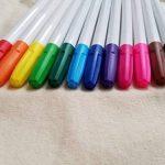 Tote-ally Fun kit de décoration de bricolage avec 2 sacs en toile, 12 marqueurs de tissu et 2 pochoirs de la marque Lifetime Inc image 2 produit