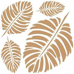 Tout Stencil Deco Carton 107feuilles, dimensions: Stencil 20x 20cm–Motif 18x 18cm de la marque TODO-STENCIL image 0 produit