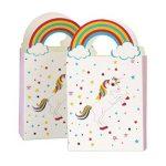 TOYMYTOY Sacs de traitement de fête Licorne Anniversaire Sacs-cadeaux de licorne de fête Sacs de faveur de papier-cadeau Pack de 24 de la marque TOYMYTOY image 1 produit