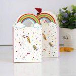 TOYMYTOY Sacs de traitement de fête Licorne Anniversaire Sacs-cadeaux de licorne de fête Sacs de faveur de papier-cadeau Pack de 24 de la marque TOYMYTOY image 2 produit
