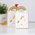 TOYMYTOY Sacs de traitement de fête Licorne Anniversaire Sacs-cadeaux de licorne de fête Sacs de faveur de papier-cadeau Pack de 24 de la marque TOYMYTOY image 3 produit