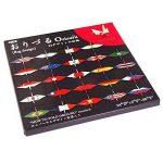 Toyo Origami pour Grue, avec drapeau national Imprimé 15cm x 15cm, 24Patterns, 2feuilles de chaque (006120) de la marque TOYO image 2 produit