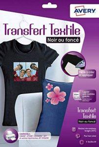 transfert sur tissu foncé TOP 0 image 0 produit