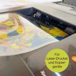 Transparents haute qualité OfficeTree® pour rétroprojecteur - 50 feuilles - Format A4 - Imprimante laser, photocopieur, rétroprojecteur - pour une qualité d'impression et de projection optimale de la marque OfficeTree image 4 produit