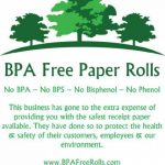 Trèfle Mini rouleaux de papier thermique (50rouleaux) sans BPA–Sans BPC–BPF–Sans–Rouleaux de papier sans BPS, première données Trèfle Mini imprimante rouleaux, première données Mini rouleaux thermiques, trèfle mini POS rouleaux. de la marque BPA image 2 produit