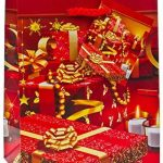 TSI 83029 Lot de 12 pochettes cadeau, 4 motifs de Noël, format petit 14x 11x 6,5cm de la marque TSI image 4 produit