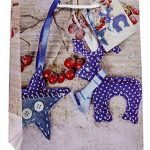 TSI 87016 Lot de 12 pochettes cadeau, 6 motifs de Noël série 6, format moyen 23x 18x 10cm de la marque TSI image 2 produit