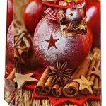 TSI 87016 Lot de 12 pochettes cadeau, 6 motifs de Noël série 6, format moyen 23x 18x 10cm de la marque TSI image 4 produit