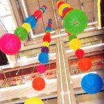 TSSS Lot de 8 lanternes chinoises pliantes en papier pour mariage ou décoration pour événement Floral 30 cm de la marque TSSS image 2 produit