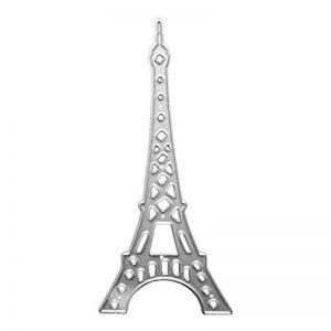 U-horizon La Tour Eiffel Dies de Découpe, Matrices de découpe Cutting Dies Pochoir à découper en métal pour scrapbooking, album photo, carte, papier de décoration, cadeau de la marque U-horizon image 0 produit