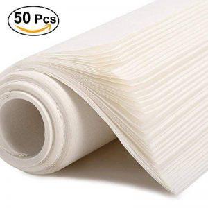 ULTNICE Écriture chinoise Papier de riz 50 Feuilles 13.78 * 9.84 Pouces de la marque ULTNICE image 0 produit