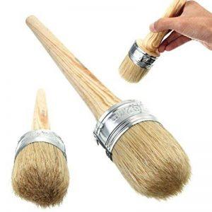 ULTNICE Pinceau pour peinture à la craie et à la cire pour meubles, pochoirs, artisanal, Décoration intérieure 40mm de la marque ULTNICE image 0 produit