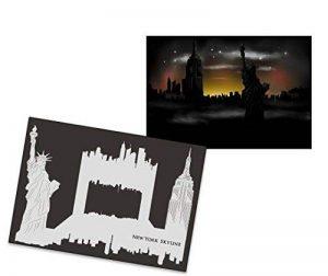 UMR-Design AS-232 New York Pochoir pour aérographe Singlestep Size L de la marque UMR-Design image 0 produit