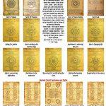 Unique Imprimer Enoch - parchemins antiques de travail de la marque Wonderworld image 2 produit