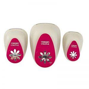 Vaessen Creative 2137-043 Kit Perforatrice en Forme de Fleur, Métal, Multicolore, 12 x 8,5 x 4,5 cm de la marque Vaessen creative image 0 produit