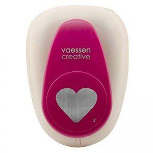 Vaessen creative 21439-005 Perforatrice à levier cœur Métal/Plastique Pourpre 15,1 x 10,9 x 8,5 cm de la marque Vaessen creative image 0 produit