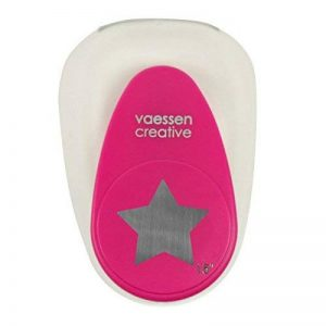 Vaessen creative 21440-004 Perforatrice à levier etoile Métal/Plastique Pourpre 9,7 x 6,8 x 5,8 cm de la marque Vaessen creative image 0 produit