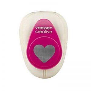 Vaessen creative 21440-016 Perforatrice à levier cœur Métal/Plastique Pourpre 1,5 x 3,75cm de la marque Vaessen creative image 0 produit