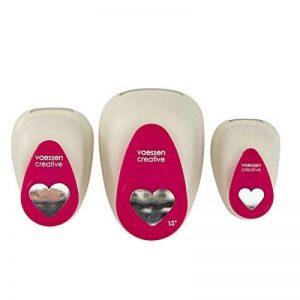 Vaessen Creative Kit Perforatrice de Cœur, Métal, Multicolore, 12 x 8,5 x 4,5 cm de la marque Vaessen creative image 0 produit