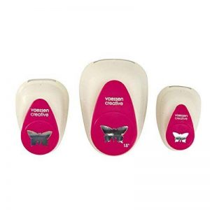 Vaessen Creative Kit Perforatrice Papillon, Métal, Multicolore, 12 x 8,5 x 4,5 cm de la marque Vaessen creative image 0 produit
