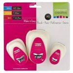 Vaessen Creative Kit Perforatrice Papillon, Métal, Multicolore, 12 x 8,5 x 4,5 cm de la marque Vaessen creative image 3 produit