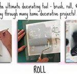 Vague Pochoir réutilisable Maison NAUTIQUE décor pochoir peinture murs Fabrics & MEUBLE - semi transparent pochoir, Small- See Images de la marque Ideal Stencils image 5 produit