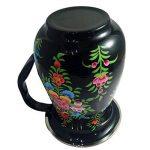 Vaisselle peint à la main en acier sur Lot de 16pièces Ensemble cadeau exclusif par Kashmiri Artisans I Home & Cuisine Décor | salle à manger et pour servir de la marque India Meets India image 6 produit