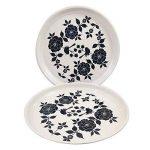 Vaisselle peint à la main en acier sur Lot de 10pièces Ensemble cadeau exclusif par Kashmiri Artisans I Home & Cuisine Décor | salle à manger et pour servir de la marque India Meets India image 1 produit