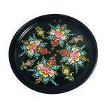 Vaisselle peint à la main en acier sur Lot de 16pièces Ensemble cadeau exclusif par Kashmiri Artisans I Home & Cuisine Décor | salle à manger et pour servir de la marque India Meets India image 1 produit
