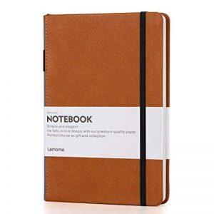 VENTES !!! Carnet Blanc/Blank Notebook - Lemome Sketchbook avec Papier épais Premium 125g/m² - Diviseurs Cadeaux - Plaine Rigide, A5, 8,4 x 5,7 pouces de la marque Lemome image 0 produit