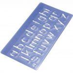Wedo 07012 Kit trace-lettres avec 3 hauteurs de caractère 5 mm/10 mm/20mm - Pack de 4 de la marque Wedo image 1 produit