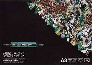 Winsor & Newton - Bloc de Papier Bleedproof 50 feuilles A3 de la marque Winsor & Newton image 0 produit