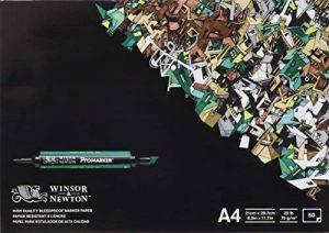 Winsor & Newton - Bloc de Papier Bleedproof 50 feuilles A4 de la marque Winsor & Newton image 0 produit