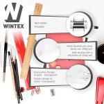 WINTEX papier calque (100 feuilles) DIN A4 100 g/m2 | avec 2 ans de garantie de satisfaction | feuilles de papier transparent de la marque image 1 produit