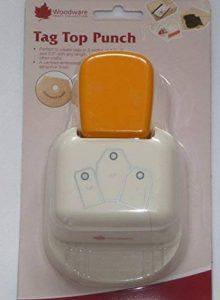Woodware Punch Perforatrice Étiquette haut droite 1.5,2ou 6,3cm Étiquettes Cadeau cp806 de la marque Woodware image 0 produit