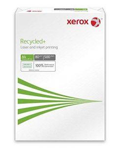 Xerox 003r91912Recycled + de l'environnement/Imprimante papier, format A4, 80g/m², 500feuilles, blanc de la marque Xerox image 0 produit