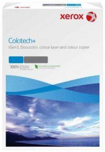 Xerox 003R94672 Paquet de 250 feuilles de papier Colotech pour photocopieurs couleur et imprimantes laser couleur et jet d'encre, format A3, 250 g/m² (Blanc) de la marque Xerox image 0 produit