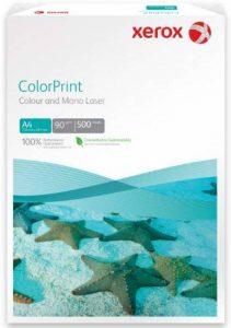 Xerox 003R95254 Rame de 500 feuilles de papier A4, 90 g/m², pour imprimante laser couleur (Blanc) de la marque Xerox image 0 produit