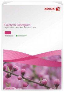 Xerox 003R97687 Rame de 100 feuilles de papier photo Premium Colotech Supergloss A3 250 g/m² pour imprimantes laser couleur (Blanc) (Import Allemagne) de la marque Xerox image 0 produit