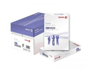 Xerox 003R98760 Lot de 5 Rames de 500 feuilles de papier universel A4 pour Photocopieur/Imprimante 80 g/m Blanc de la marque Xerox image 0 produit