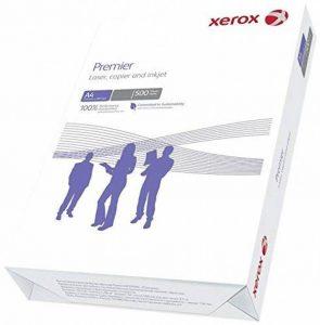 Xerox Lot de 500 feuilles de papier format A4 pour photocopieurs et imprimantes - Blanc de la marque Xerox image 0 produit