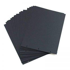 """XIUJUAN Scrapbooking Papier 26 x 18cm, Pour l'album 26.5x18.5cm, Paquet de 20 (Pour""""Our Story Album) de la marque XIUJUAN image 0 produit"""