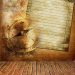 YongFoto 1,5x2,2m Vinyle Toile de Fond Horloge rayée en bois plat jaune lettre papier horloge temps consommer artistique Fond Décors Studio Photo Portrait Enfant Video Fete Mariage Photobooth Photographie Accesorios de la marque YongFoto image 1 produit