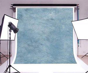 YongFoto 2x2m Vinyle Toile de Fond Gris foncé Bleu Papier aquarelle Texture Fond Décors Studio Photo Portrait Enfant Video Fete Mariage Photobooth Photographie Accesorios de la marque YongFoto image 0 produit