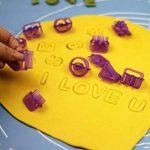 Yookay Fondant Emporte-pièces lettres de l'alphabet, 40Lettre et numéro découpes/moules Meilleur DIY Emporte-pièces pour décoration de gâteaux de la marque Yookay image 2 produit